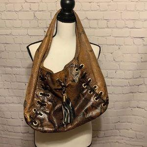 MIchael Kors snake print bag